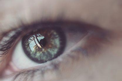 Gros plan d'un œil