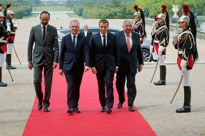 Les deux chambres du parlement (Assemblée nationale et Sénat) se sont rassemblées à Versailles le 3 Juillet 2017
