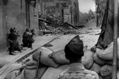 1936, début de la guerre civile d'Espagne