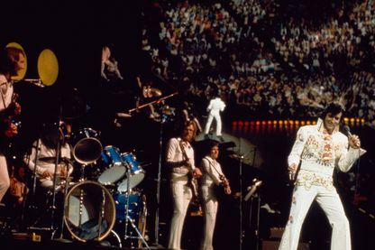 "Elvis, show ""Aloha From Hawaï"" - janvier 1973"
