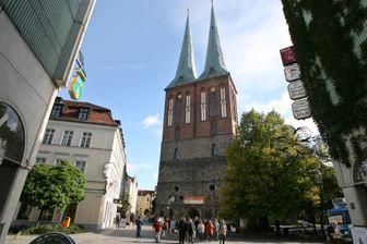 Église Saint-Nicolas à Berlin.