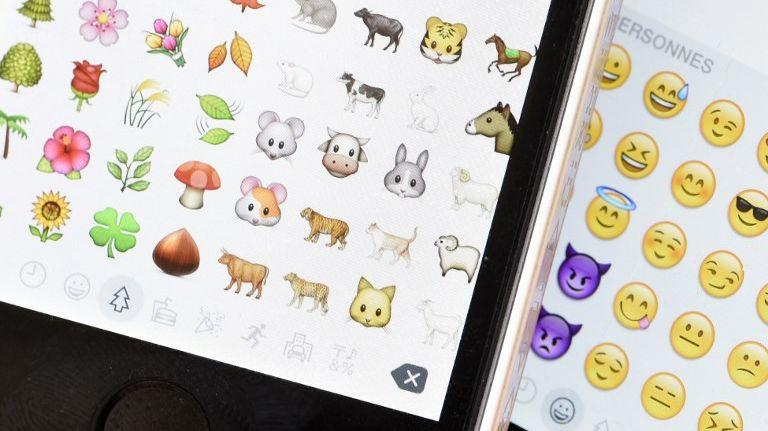 Les emoji sont toujours plus nombreux sur les smartphones