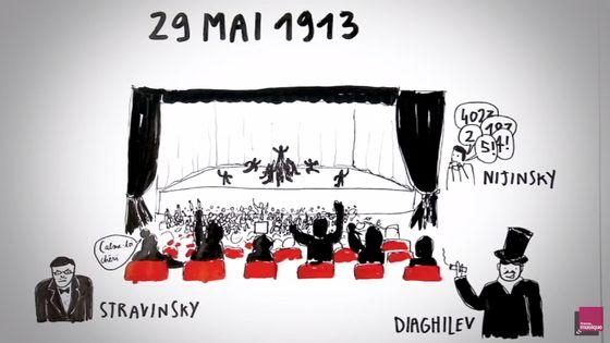 """Capture de la vidéo """"Je sais pas vous : le Sacre du printemps de Stravinsky"""""""