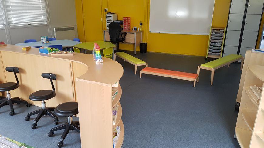 Après deux mois de travaux, l'espace de 82m² est prêt à accueillir les élèves à la rentrée
