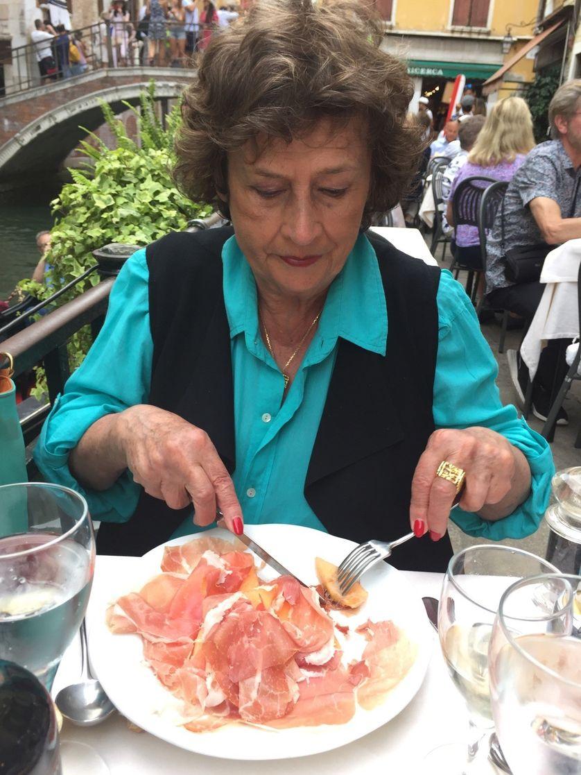 Michèle Cotta par Philippe Barret