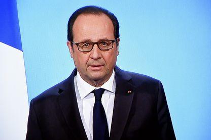 Le président de la République François HOLLANDE annonce, lors d'une allocution télévisée au début des journaux télévisés de 20h00, qu'il ne se représentera pas à l'élection présidentielle de 2017