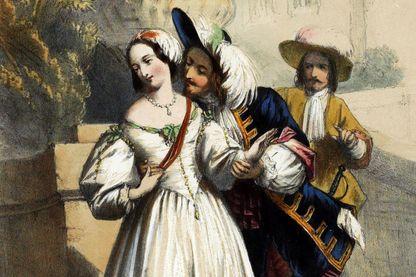 La femme, l'amant et le mari