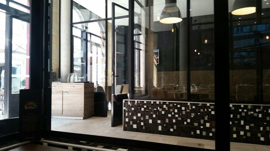 Le Passage Gourmand, vue intérieure : le restaurant
