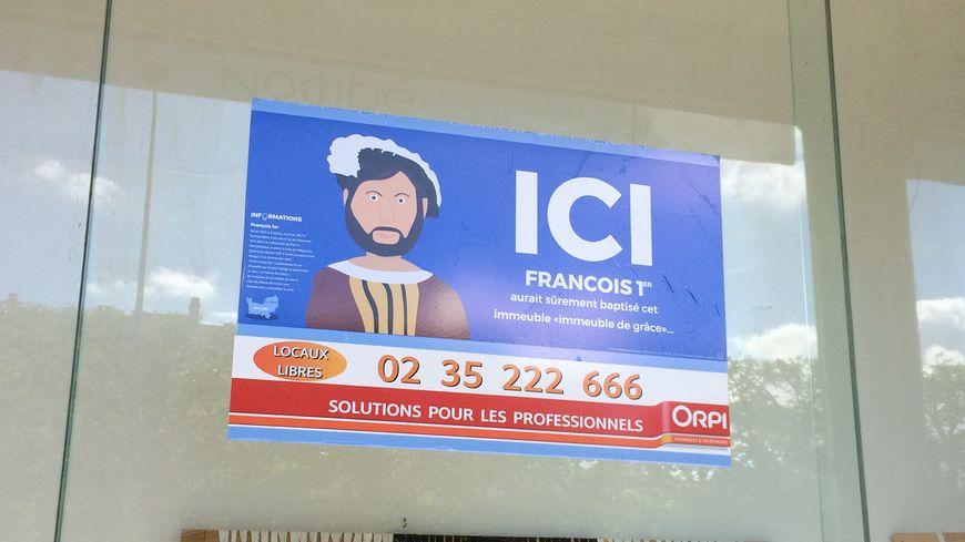 De nouvelles affiches ont fleuri sur les locaux commerciaux vacants au Havre