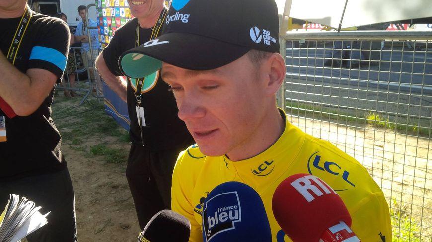 Christopher Froome sur le Tour de France 2016