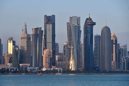 Vue de Doha, au Qatar