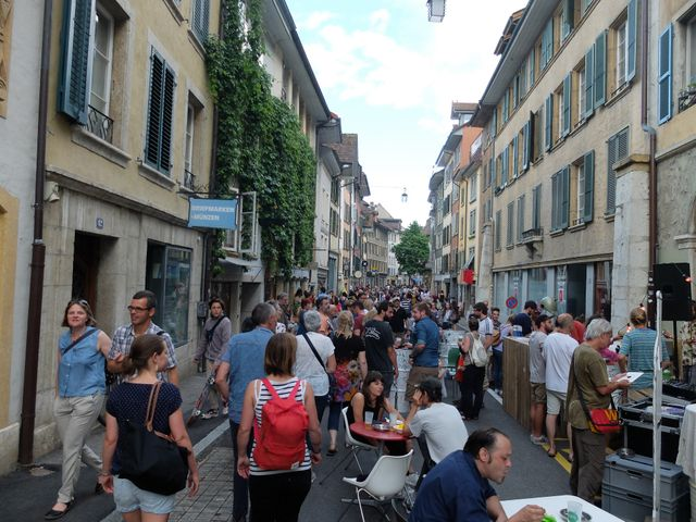 First Friday, la fête de Bienne