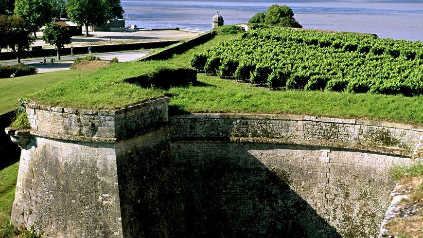 Le Clos de l'Echauguette au coeur de la citadelle de Blaye