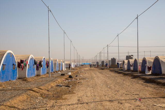 La bataille de Mossoul a fait des centaines de milliers de déplacés.