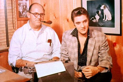 Colonel Tom Parker et Elvis Presley
