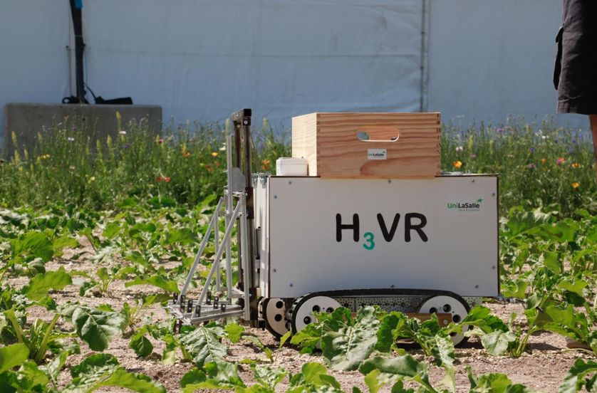H3VR, robot désherbeur