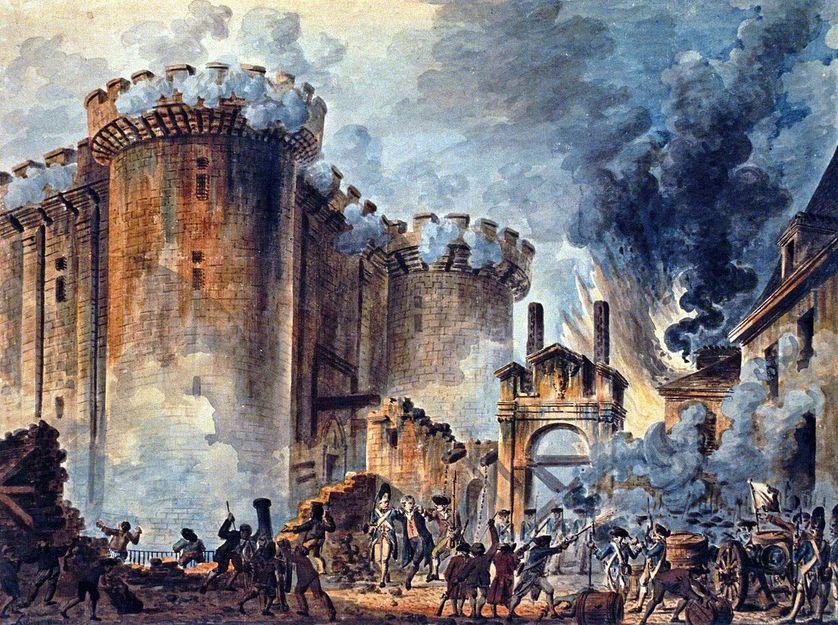 """""""La prise de la Bastille""""."""