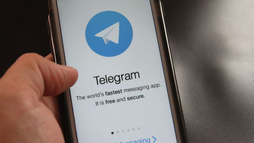Le jeune homme utilisait l'application Telegram