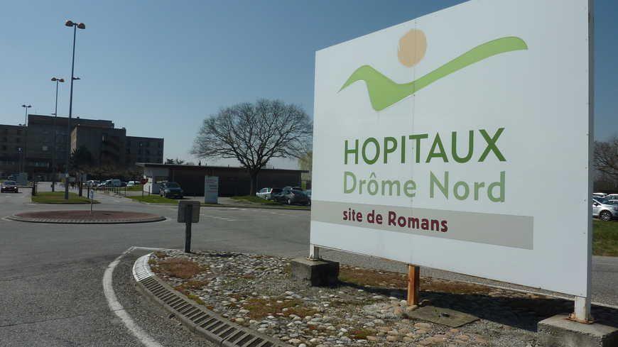 L'hôpital Drôme Nord à Romans-sur-Isère.