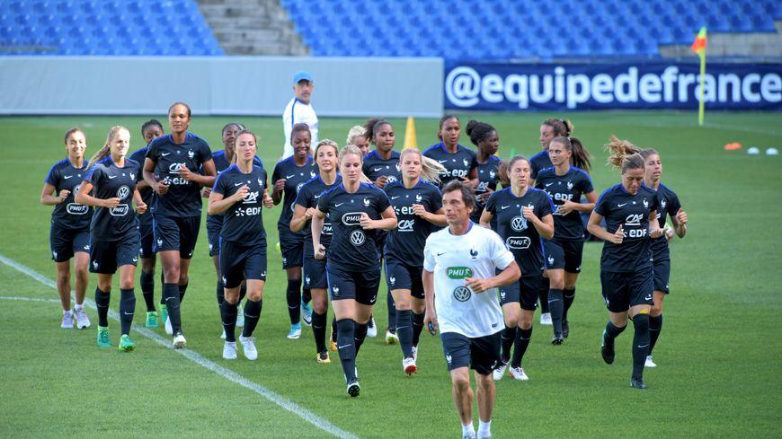 match de foot féminin ce soir