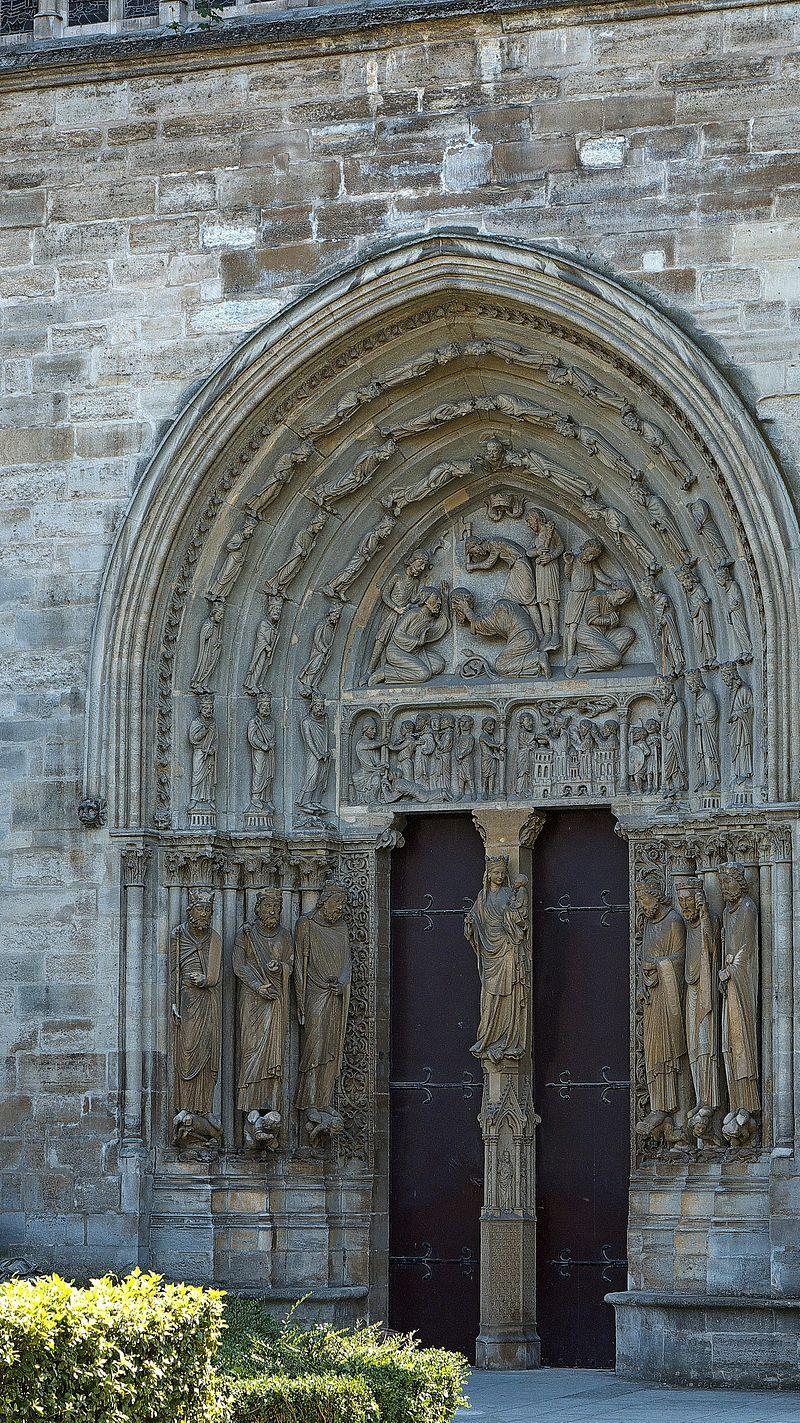 Portail Nord de la Basilique de Saint Denis