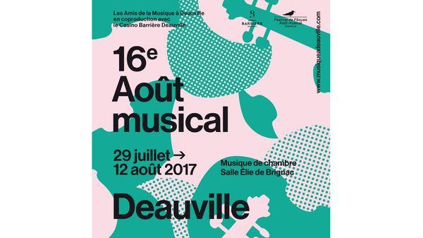 Festival août musical à Deauville - 16ème édition