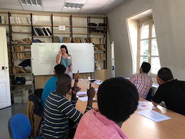 des cours pour les étudiants réfugiés
