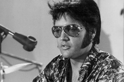 Elvis Presley en 1970.