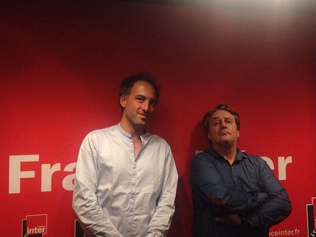 Raphaël Glucksmann et Mathias Deguelle