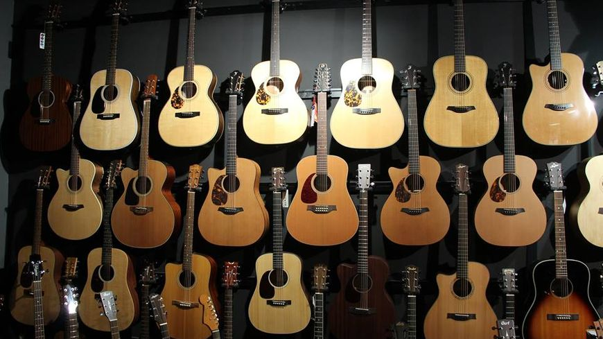 guitare gaucher magasin paris