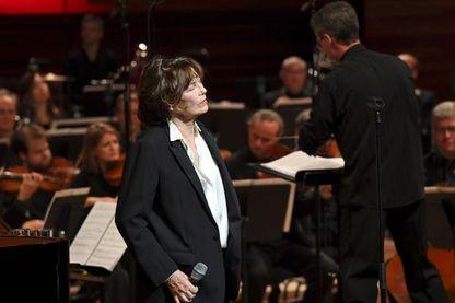 Jane Birkin accompagnée de l'Orchestre Philharmonique de Radio France : soirée Gainsbourg Symphonique