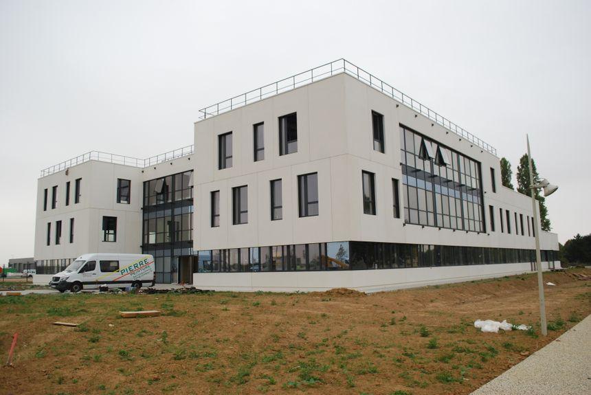 Le bâtiment d'Enedis s'est installé sur le site de l'ancienne caserne