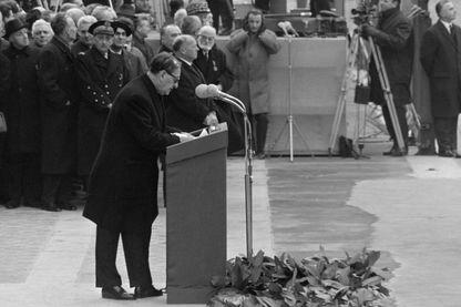 Discours d'André Malraux lors du transfert des cendres de Jean Moulin au Panthéon