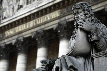 Statue de Jean-Baptiste Colbert (1619-1683), auteur du Code Noir au Palais Bourbon