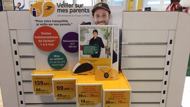 Les dépliants explicatifs font la promotion du nouveau service de La Poste... qui n'a pour l'instant aucun abonné en Creuse.