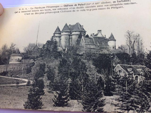 Le château de Paluel sur les cartes postales d'époque
