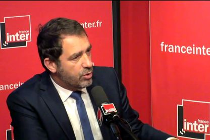 Christophe Castaner, porte-parole du gouvernement Edouard Philippe