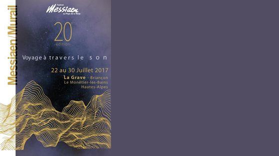 Affiche Festival Messiaen au Pays de la Meije 2017
