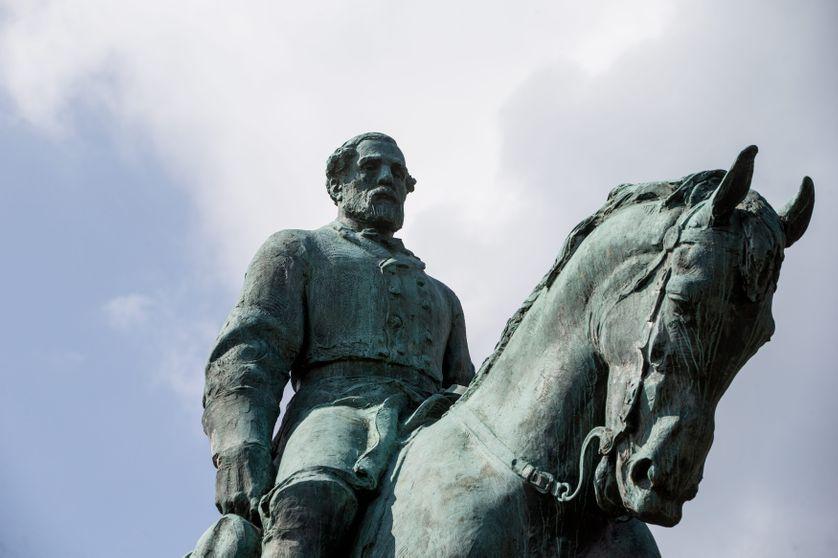 Statue du Général Lee à Charlottesville