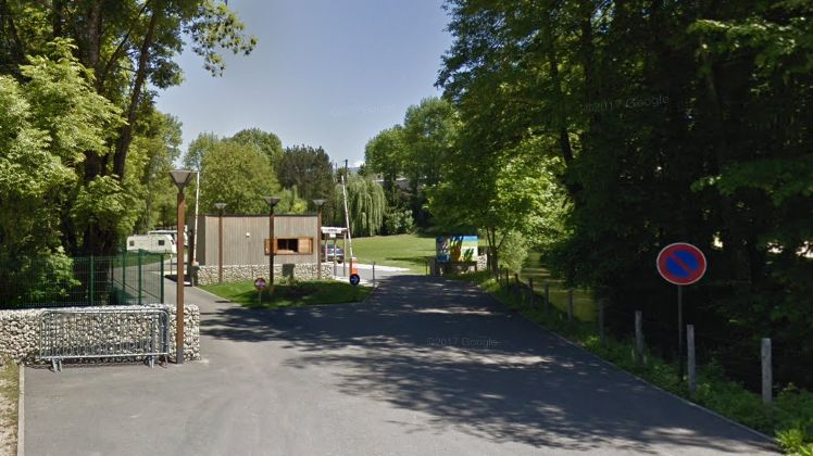 Camping municipal de Saint-Jean-en-Royans.