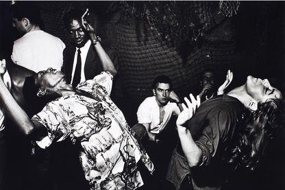 Vali Myers (Ann) danse à La Scala Paris, 1950. Ed van der Elsken Nederlands Fotomuseum Rotterdam