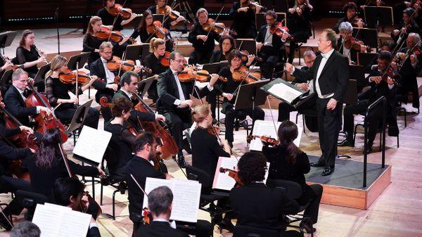 Emmanuel Krivine et l'Orchestre National de France