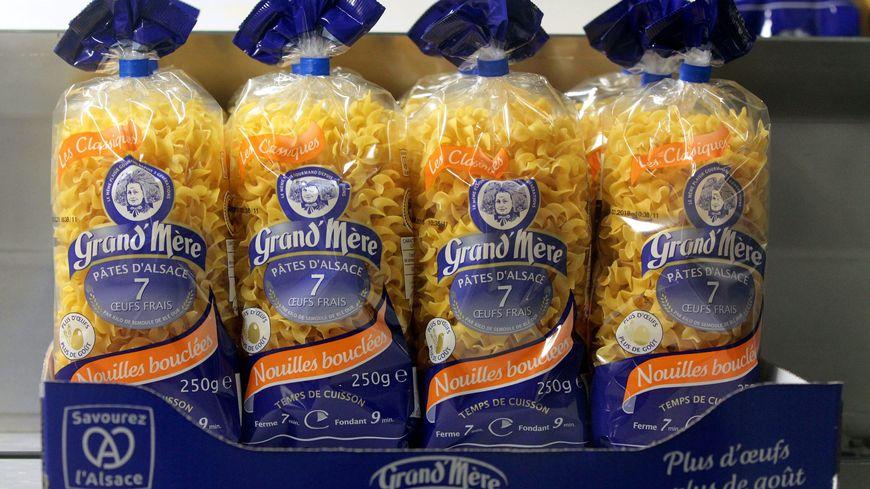 Plusieurs lots de pâtes Grand'mère ont été retirés du marché.