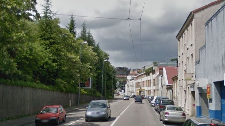 Le meutre a eu lieu dans le bas du quartier de la Cotonne à Saint-Étienne.