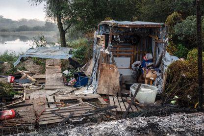 La Jungle de Calais en octobre 2016