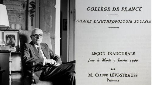 Leçon inaugurale de Claude Lévi-Strauss