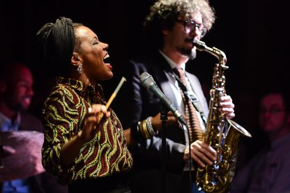 China Moses au London Jazz festival - novembre 2014