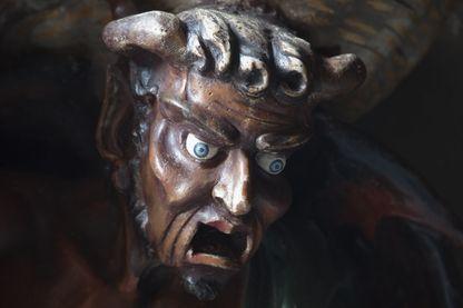 Statue du diable de l'église de Rennes-le-Château