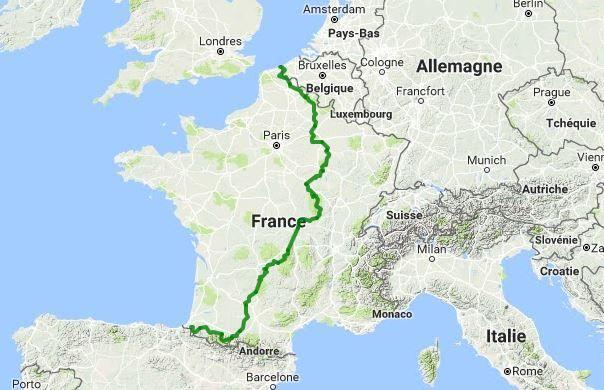 Le parcours de la French Divide 2017