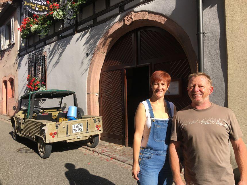 Nathalie et Philippe Traber, distillateurs à Ribeauvillé